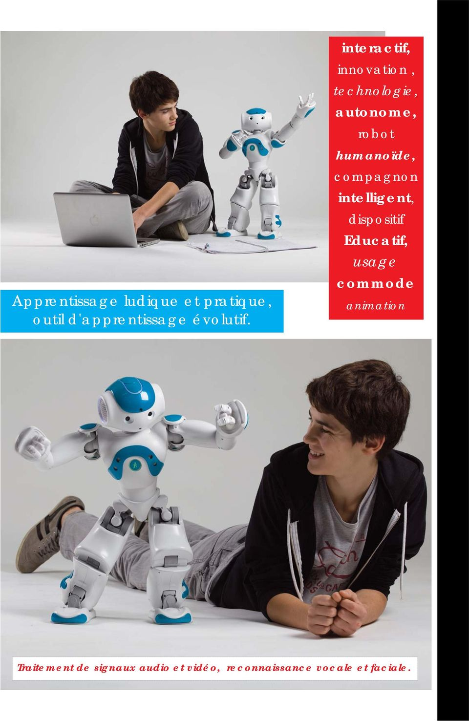compagnon intelligent, dispositif Educatif, usage commode animation