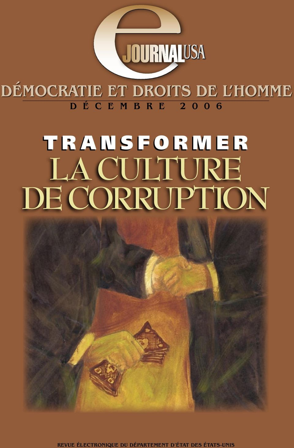 R LA CULTURE DE CORRUPTION REVUE