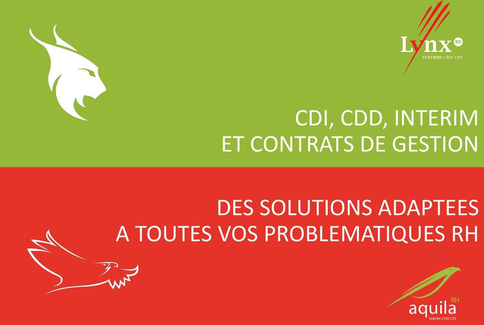 SOLUTIONS ADAPTEES A