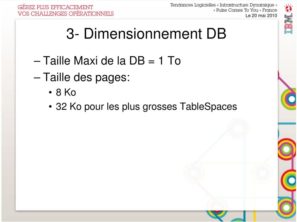 Taille des pages: 8 Ko 32