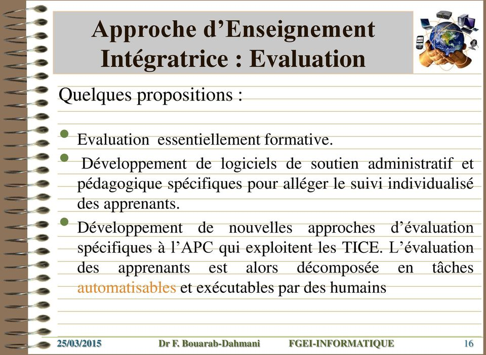 individualisé des apprenants.