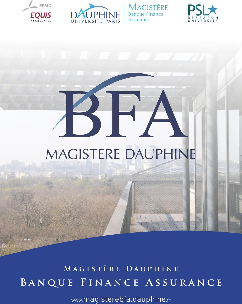 Dauphine Banque Finance