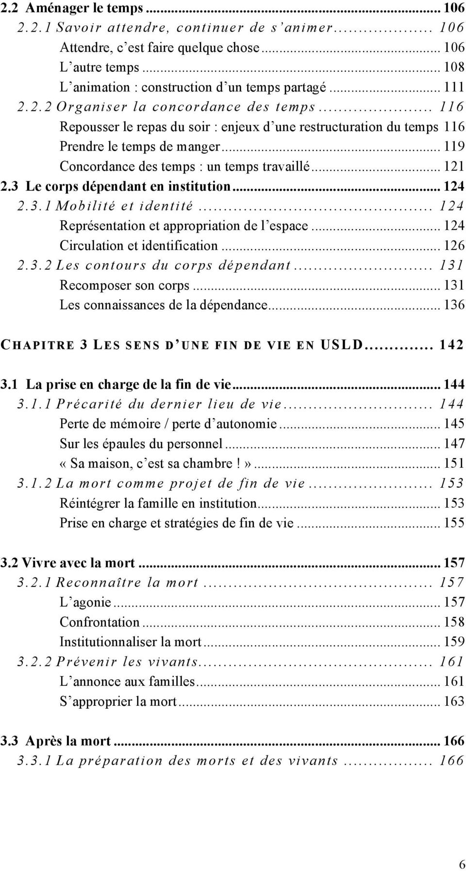 Ethnologie compar e de la vie quotidienne en institution for Chambre 121 pdf
