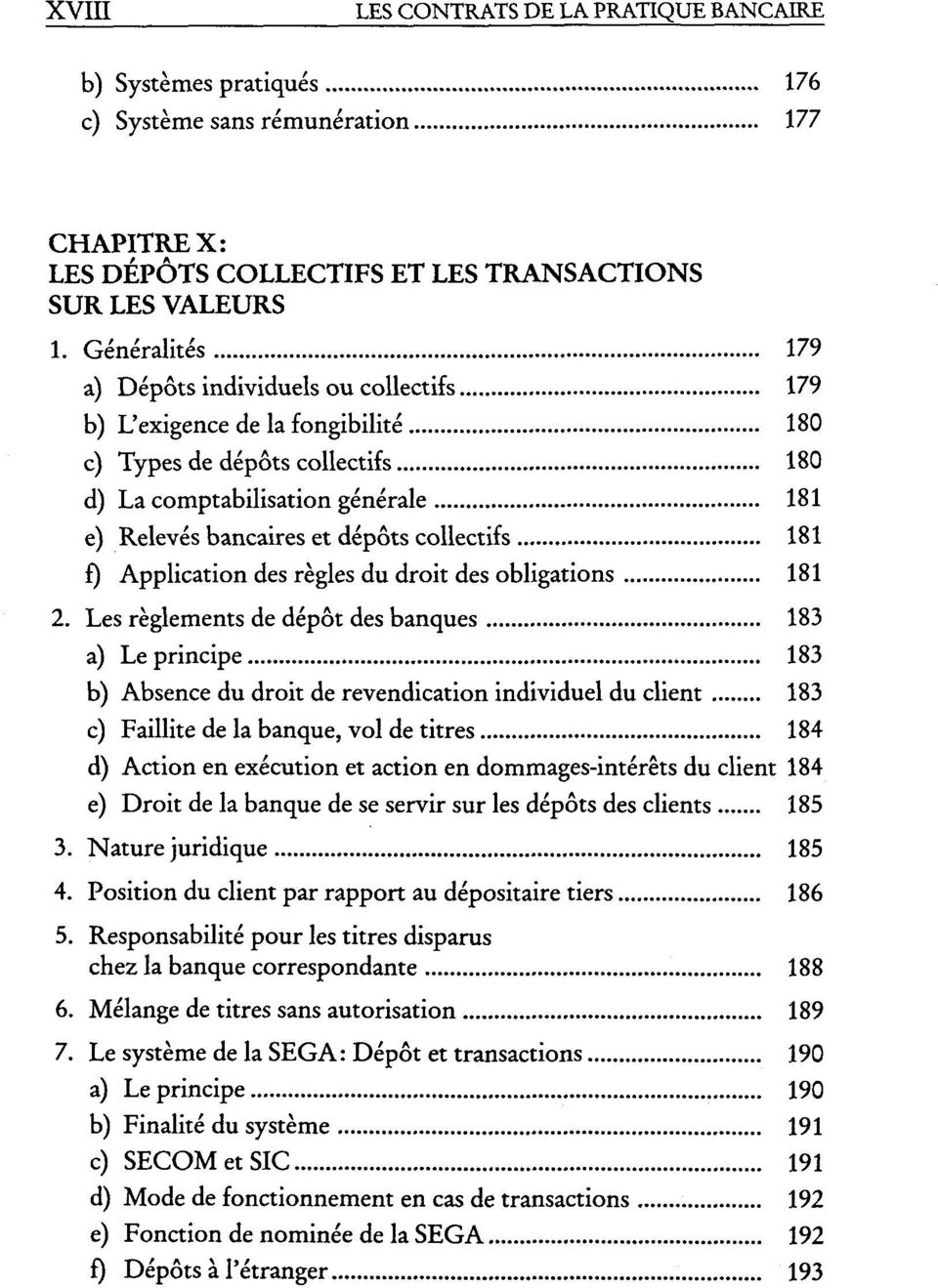 collectifs 181 f) Application des regles du droit des obligations 181 2.