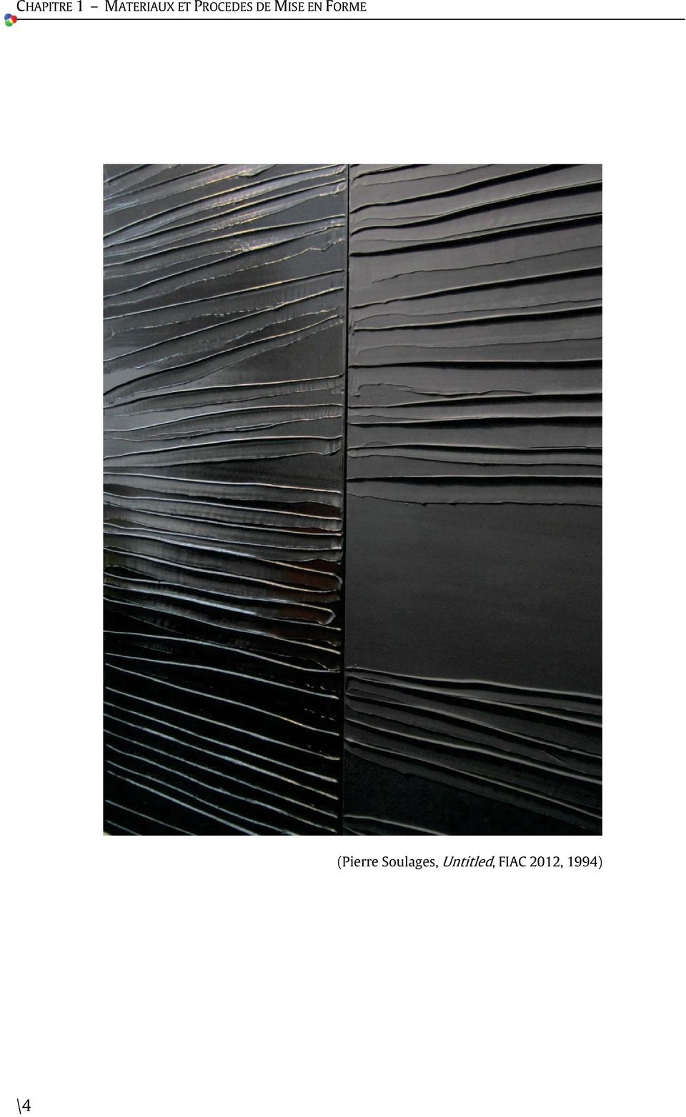 FORME (Pierre Soulages,