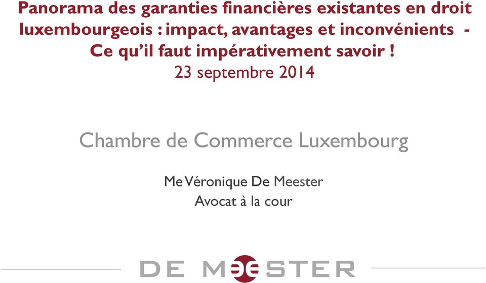 Chambre de commerce luxembourg pdf for Chambre commerce luxembourg