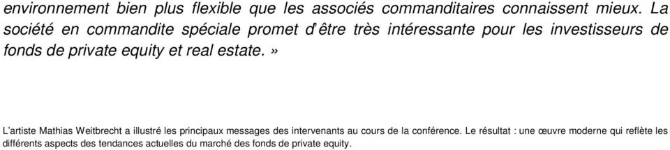 equity et real estate.