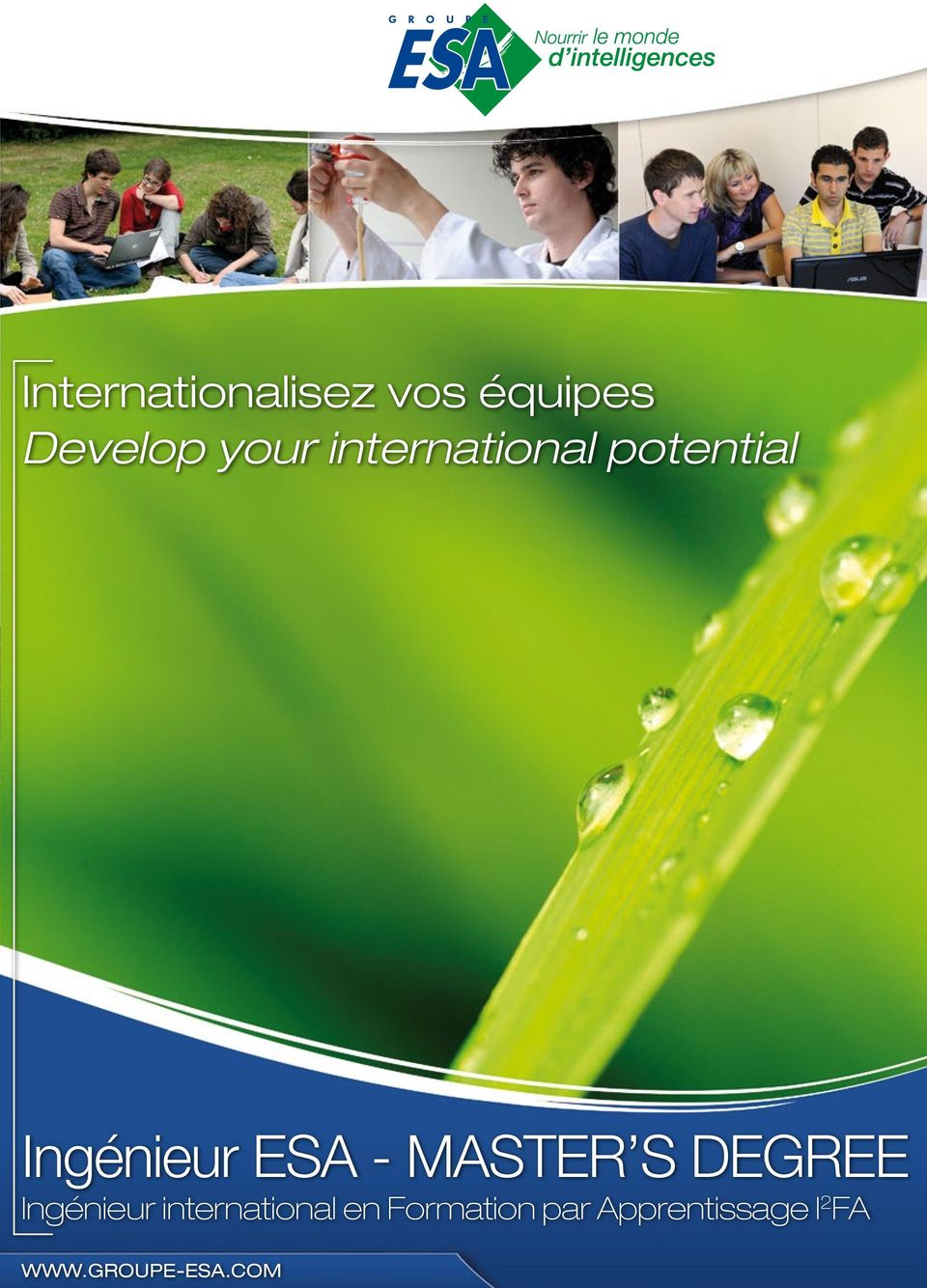 MASTER S DEGREE Ingénieur international en