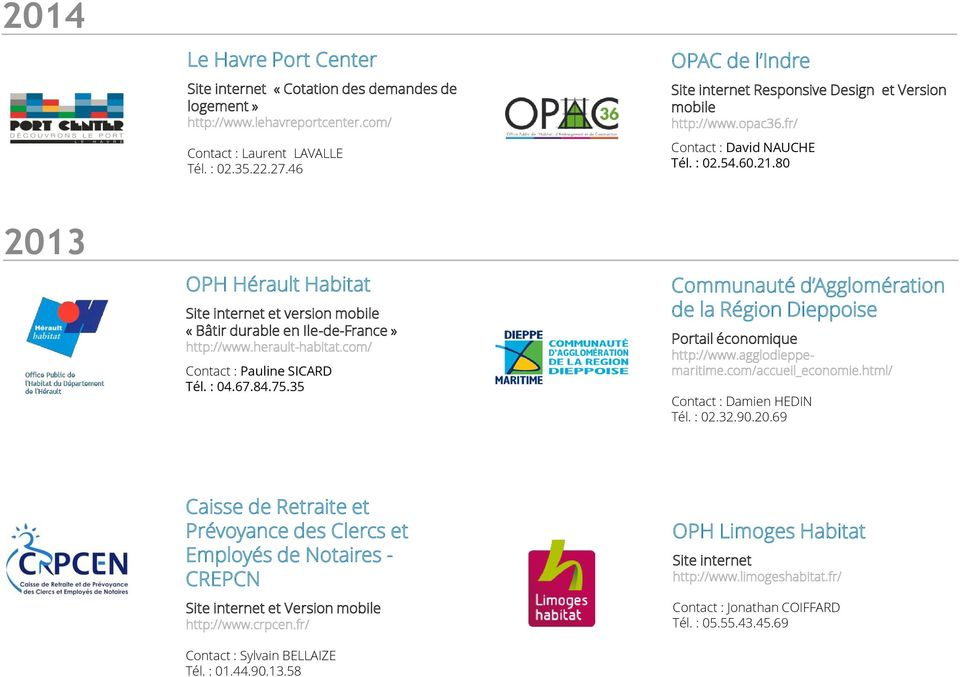 35 OPAC de l Indre Responsive Design et Version mobile http://www.opac36.fr/ Contact : David NAUCHE Tél. : 02.54.60.21.