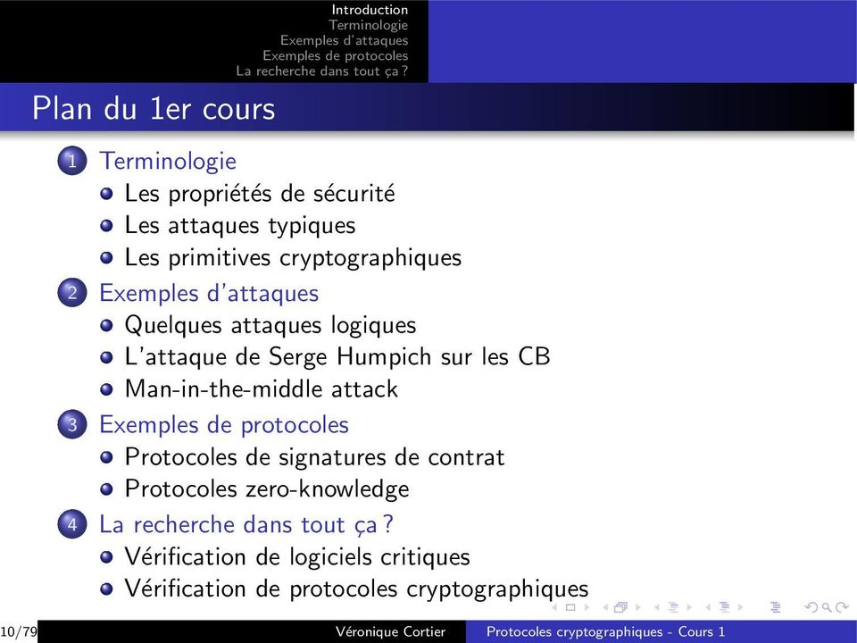Man-in-the-middle attack 3 Protocoles de signatures de contrat Protocoles zero-knowledge 4