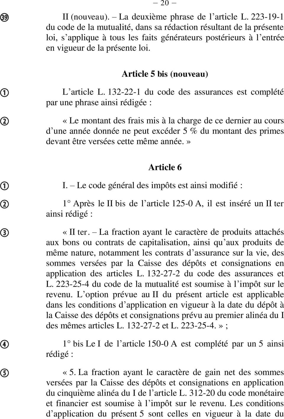 Article 5 bis (nouveau) L article L.