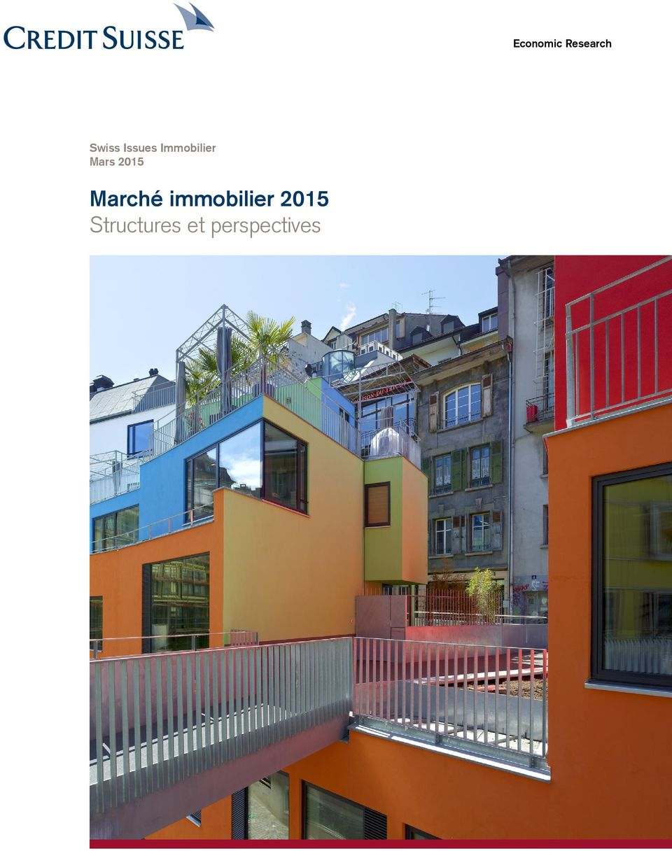 2015 Marché immobilier