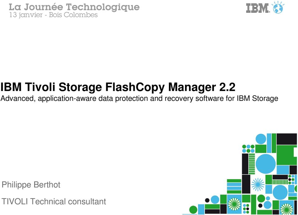 protection and recovery software for IBM