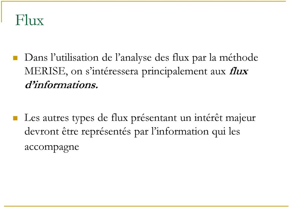 informations.