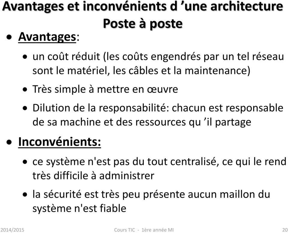 Compl ment r seaux mme chouraqui usto mb pdf - Systeme centralise definition ...