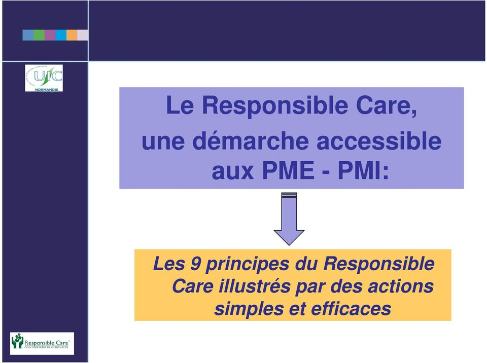 principes du Responsible Care
