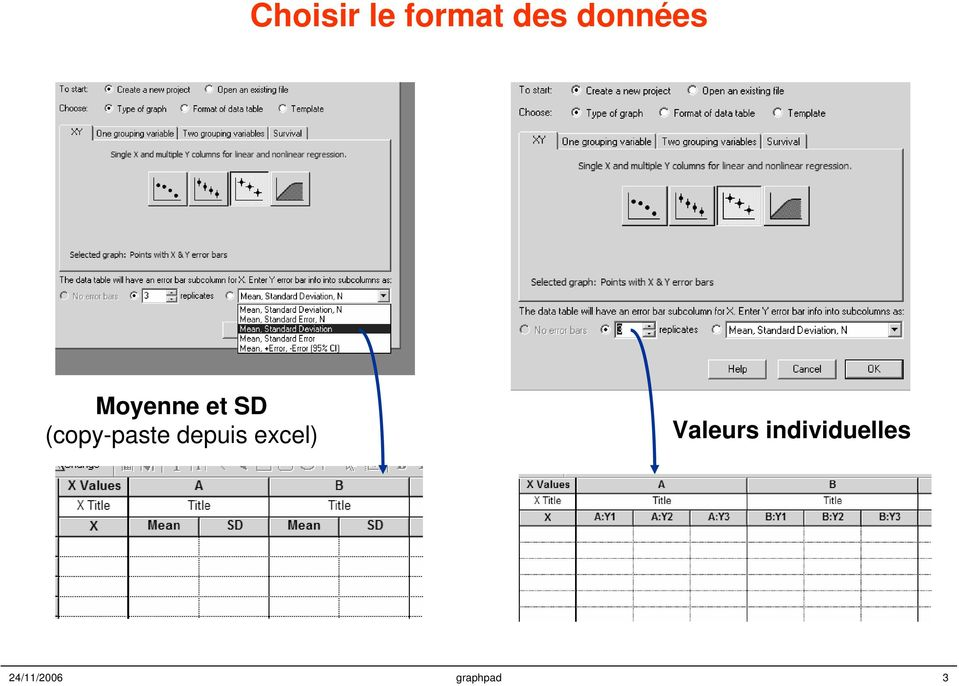 (copy-paste depuis excel)