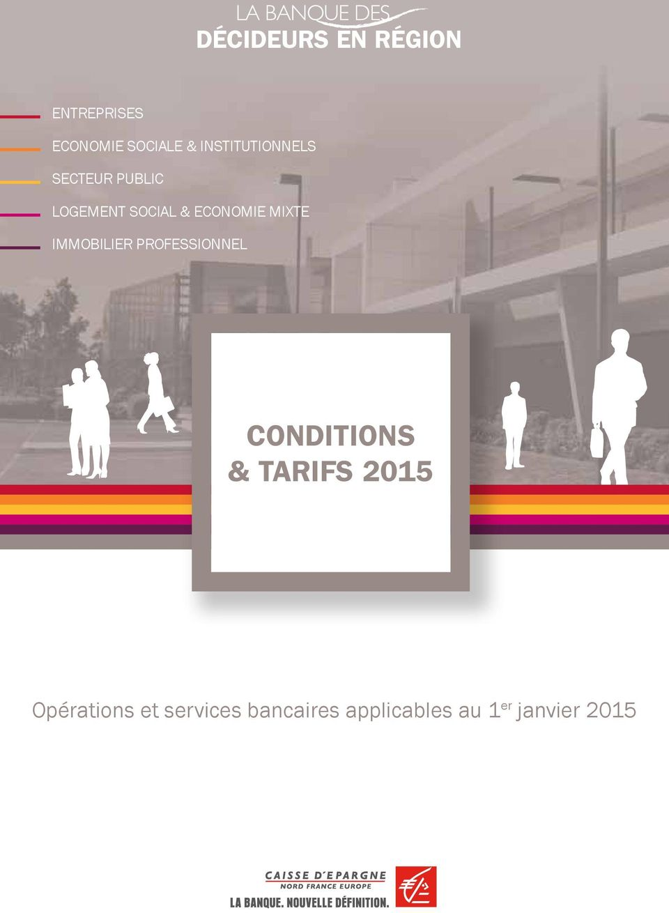 mixte immobilier professionnel Conditions & tarifs 2015