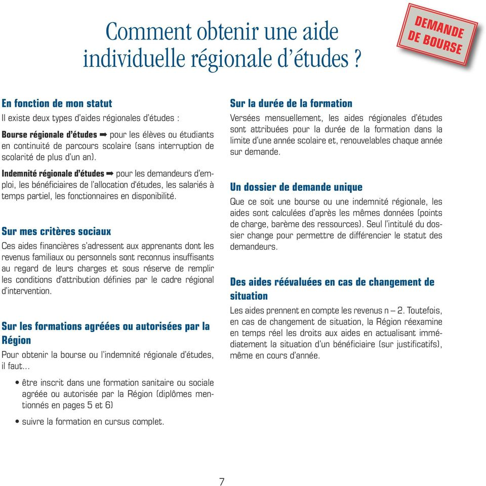 interruption de scolarité de plus d un an).