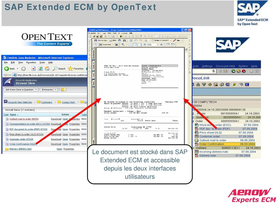 Extended ECM et accessible