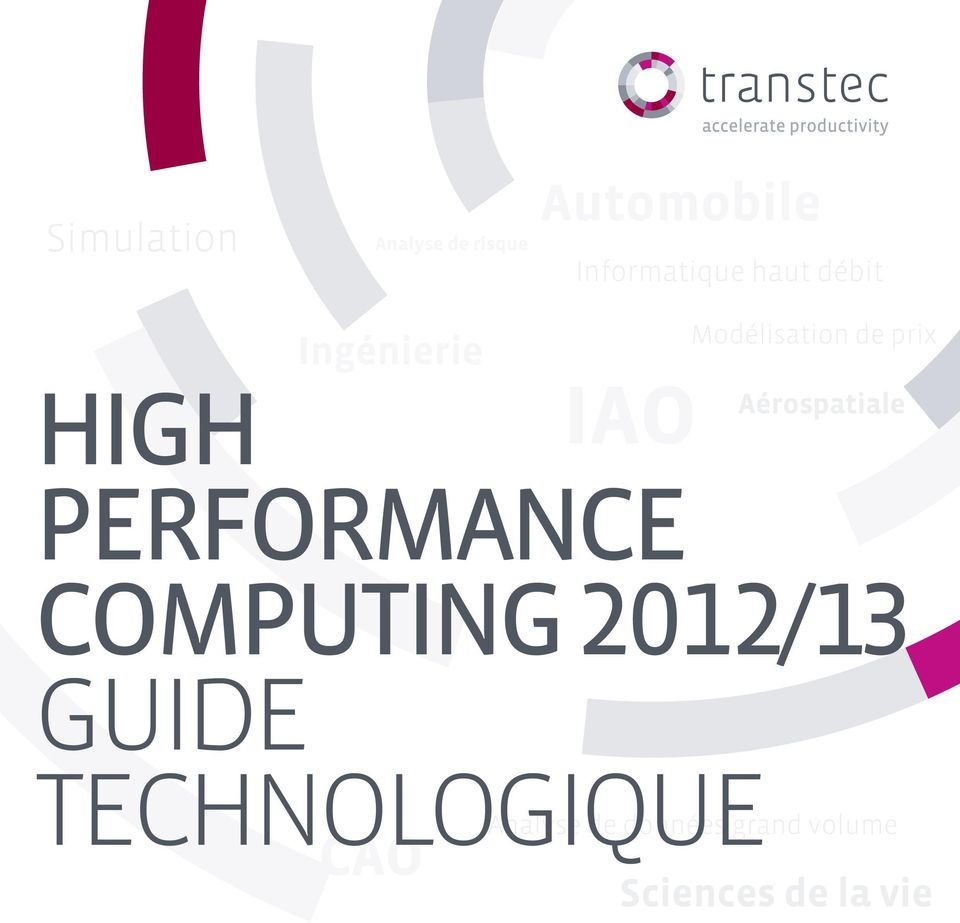 Aérospatiale Performance Computing 2012/13 GUIDE