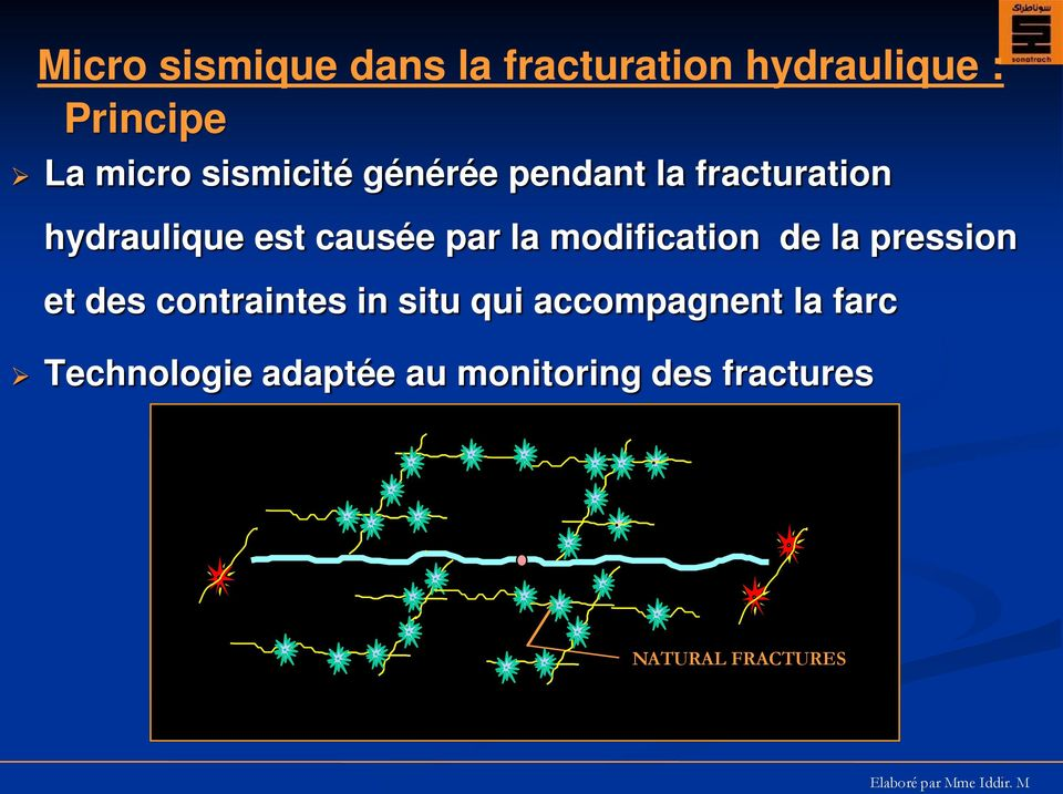 modification de la pression et des contraintes in situ qui accompagnent