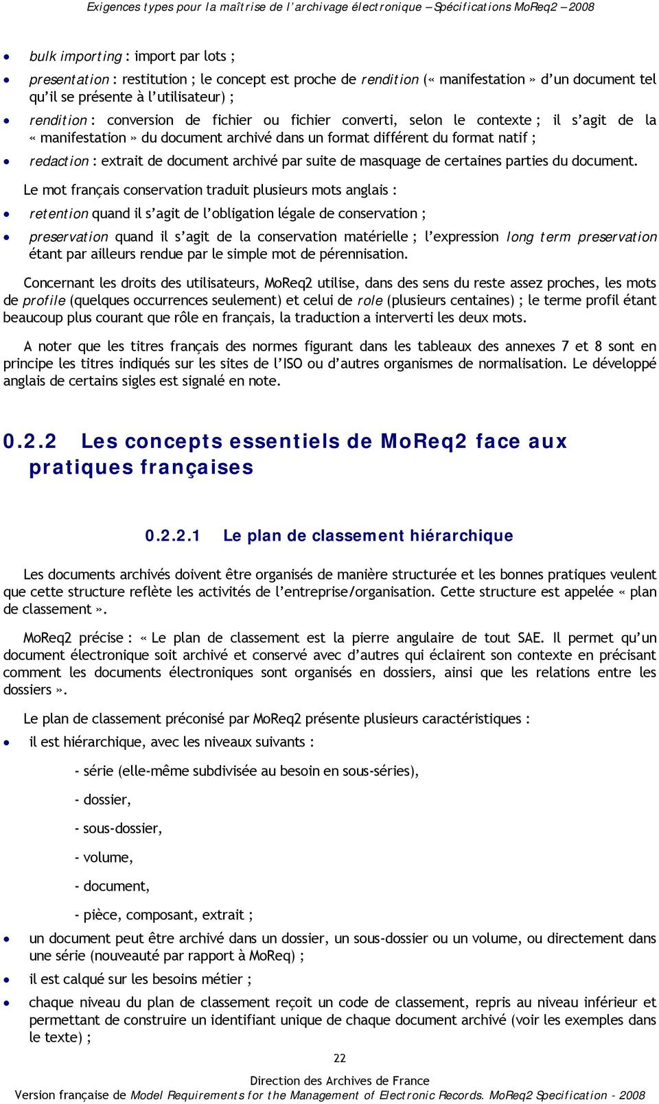 masquage de certaines parties du document.