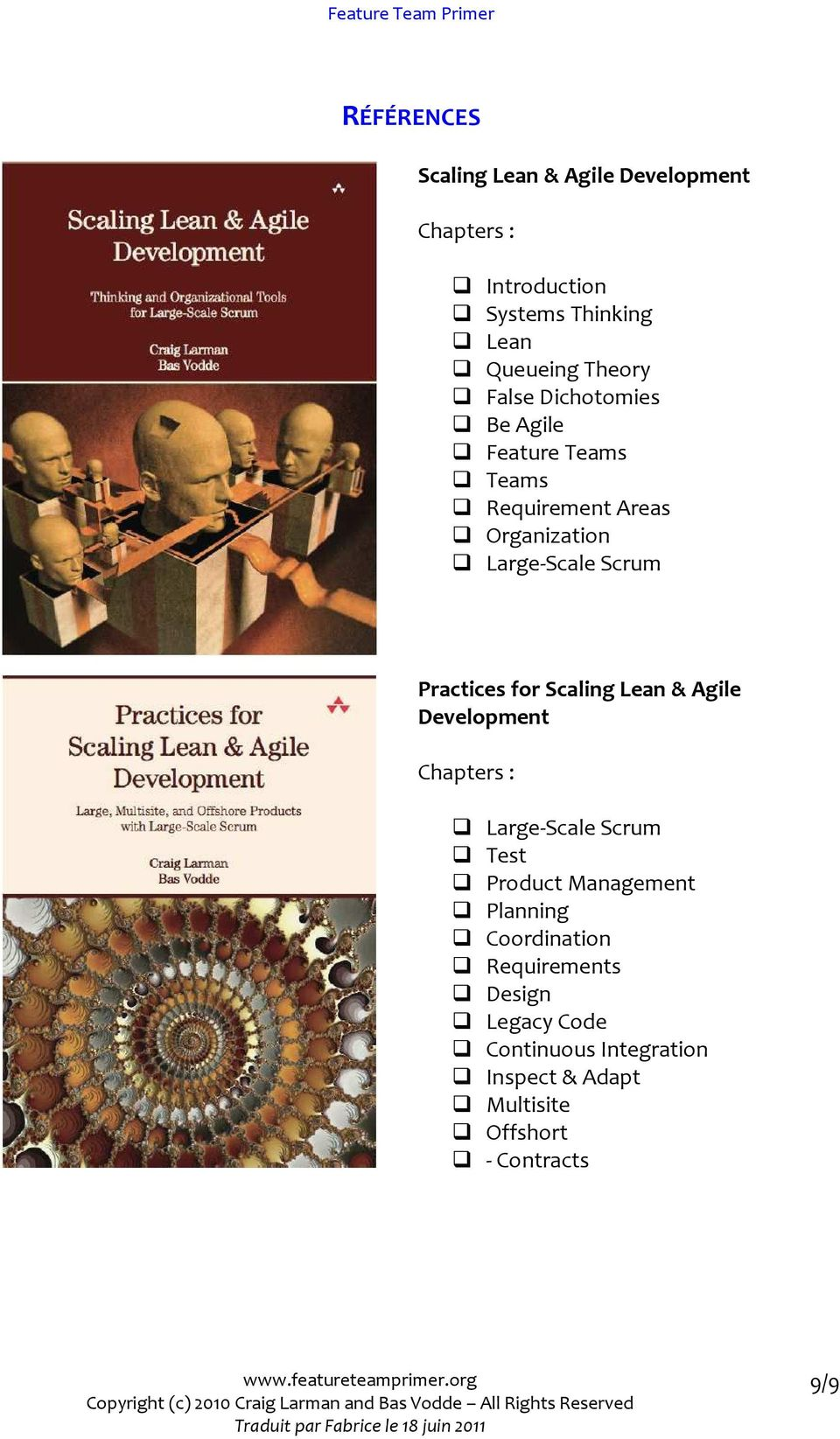 for Scaling Lean & Agile Development Chapters : Large-Scale Scrum Test Product Management Planning