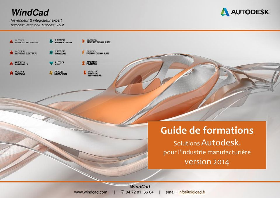 manufacturière version 2014 WindCad