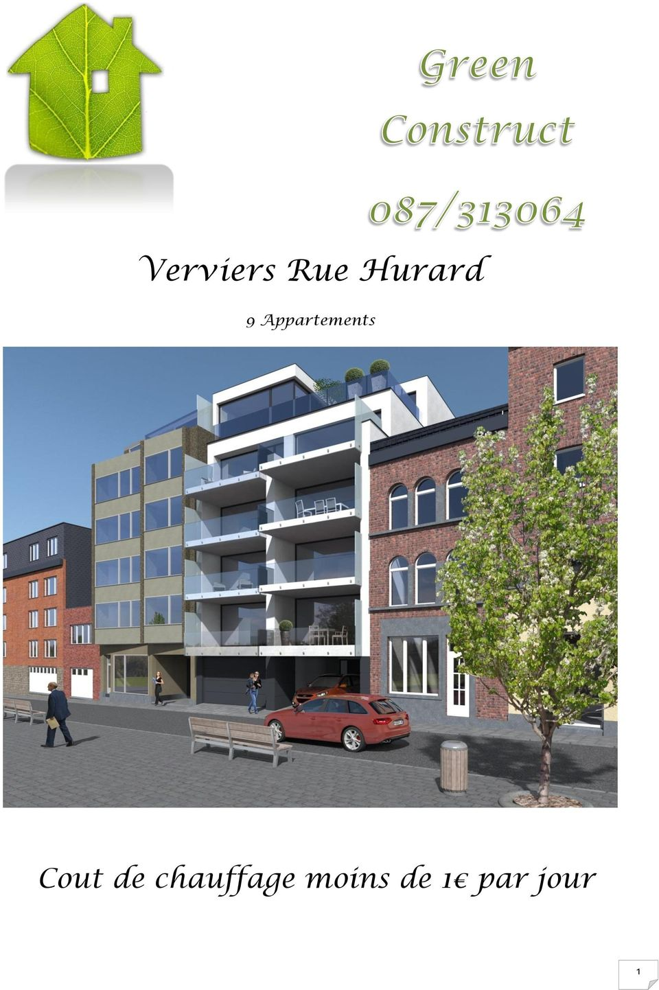Appartements Cout