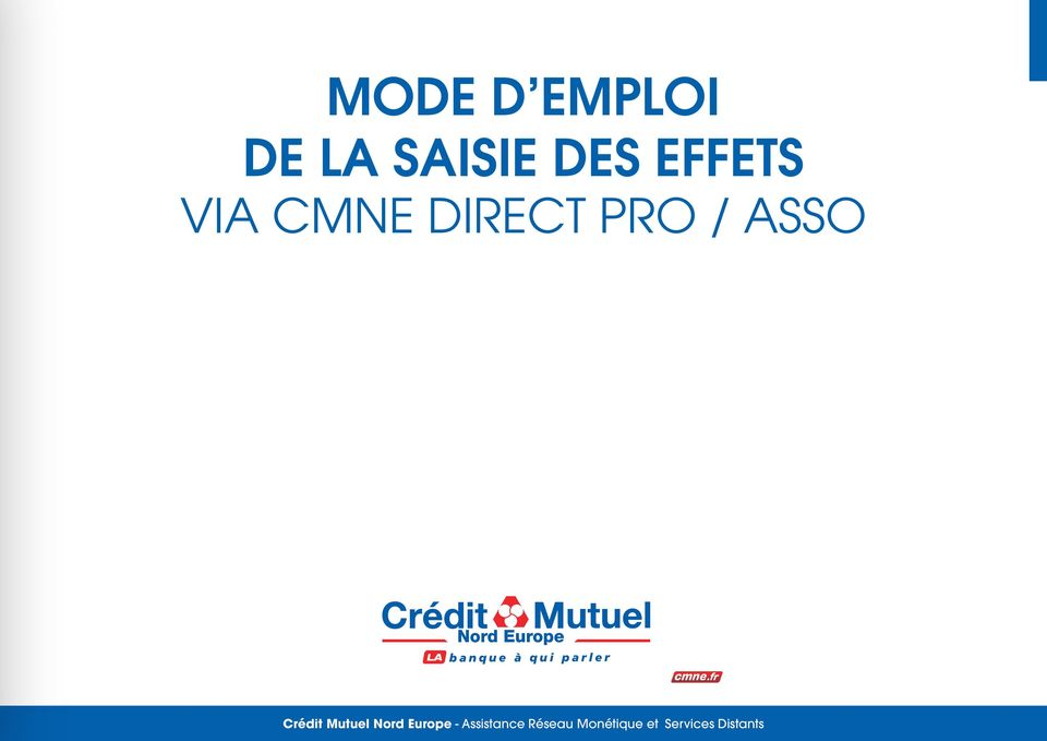 Crédit Mutuel Nord Europe -