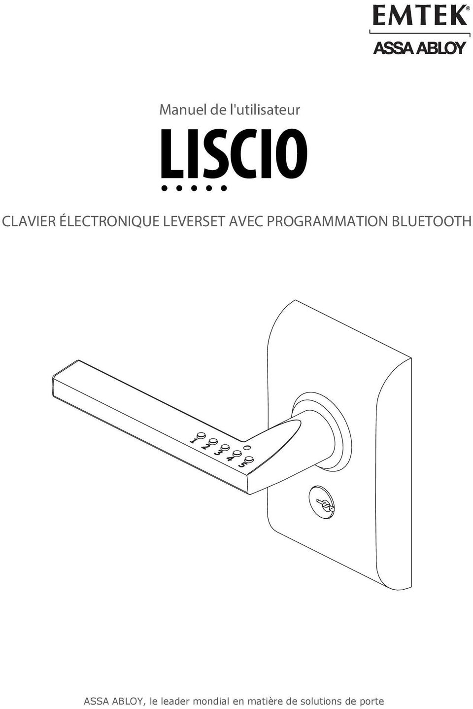 PROGRAMMATION BLUETOOTH ASSA ABLOY,