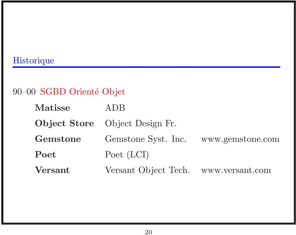 Gemstone Gemstone Syst. Inc. www.gemstone.