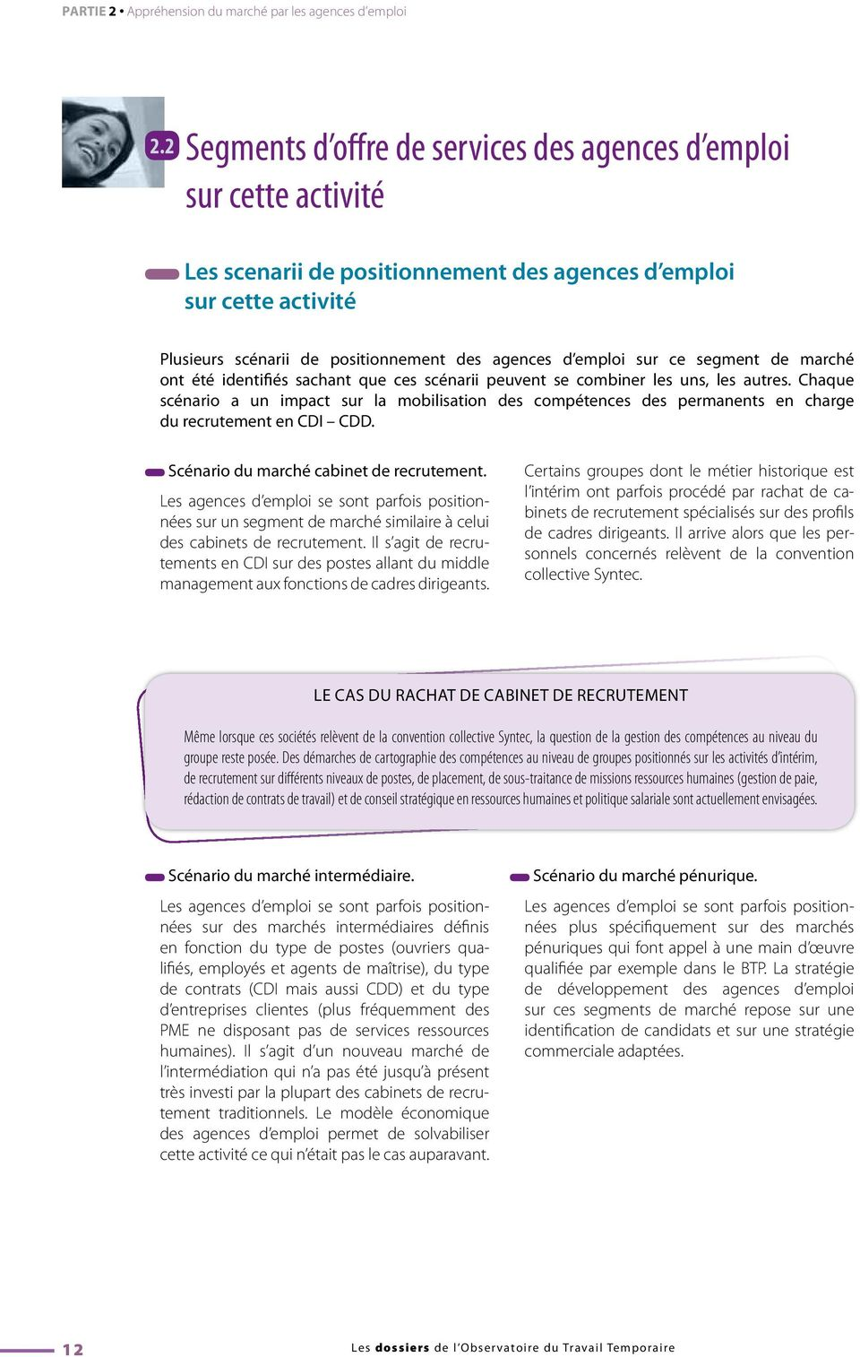 Les comp tences des permanents face la nouvelle activit - Cabinet de recrutement page personnel ...
