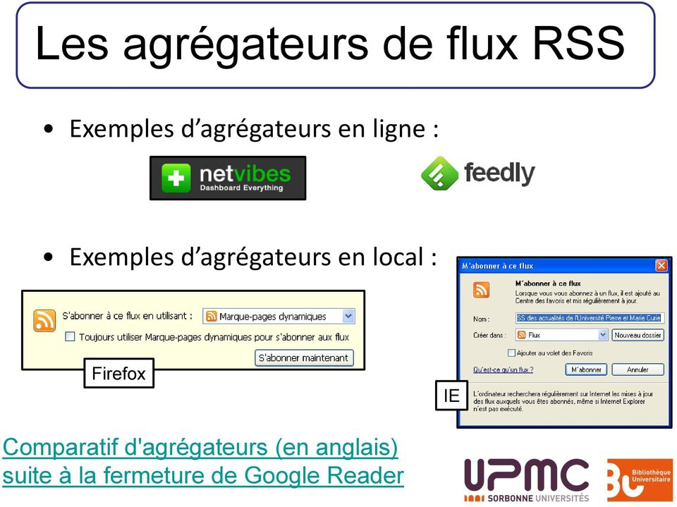 en local : Firefox IE Comparatif