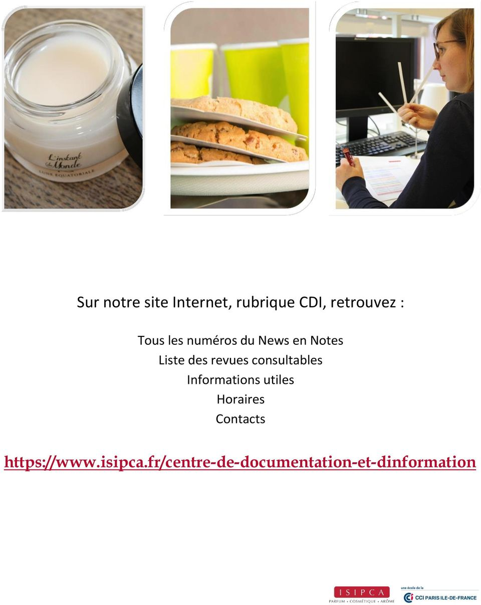consultables Informations utiles Horaires Contacts