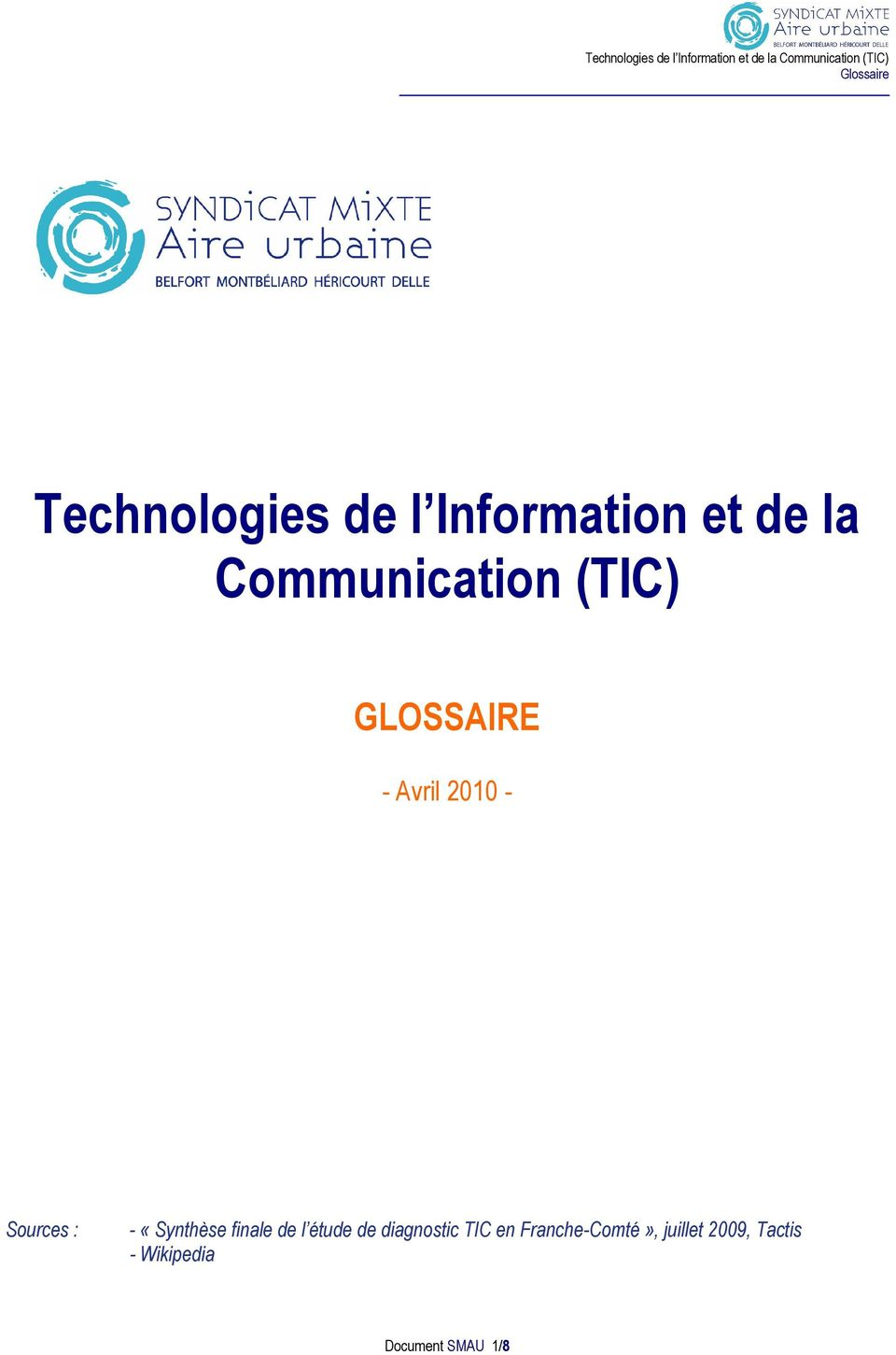 Technologies de l Information et de la Communication (TIC ...
