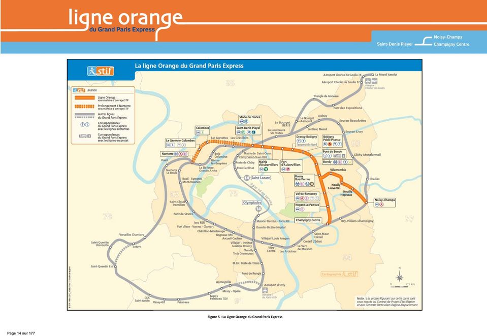 Ligne Orange du
