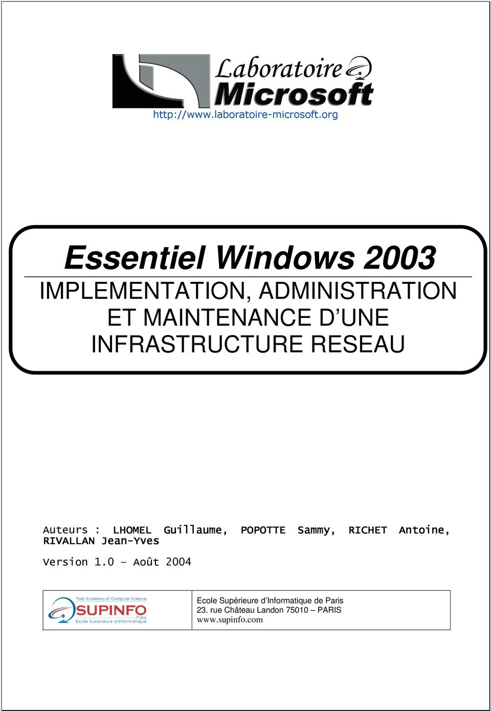 WINDOWS 2003!