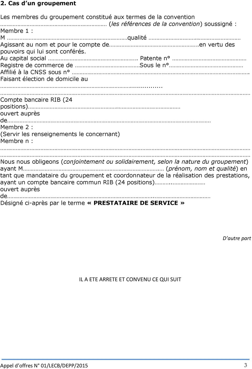 .. Compte bancaire RIB (24 positions).