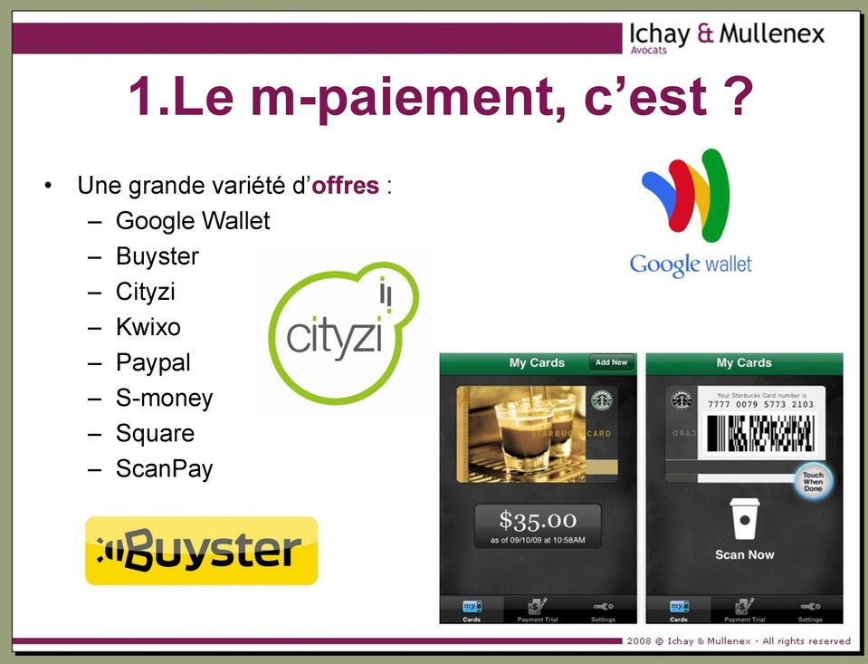 Google Wallet Buyster Cityzi