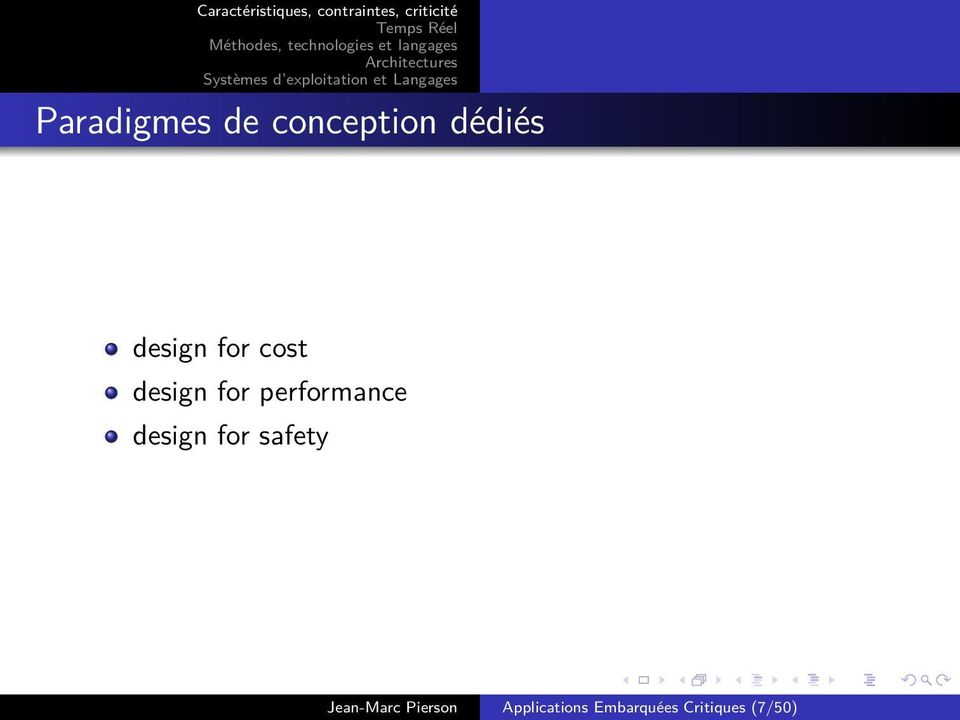 performance design for safety