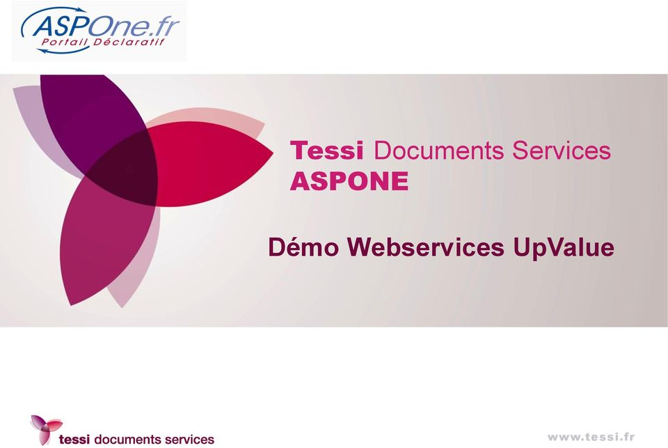 Démo Webservices