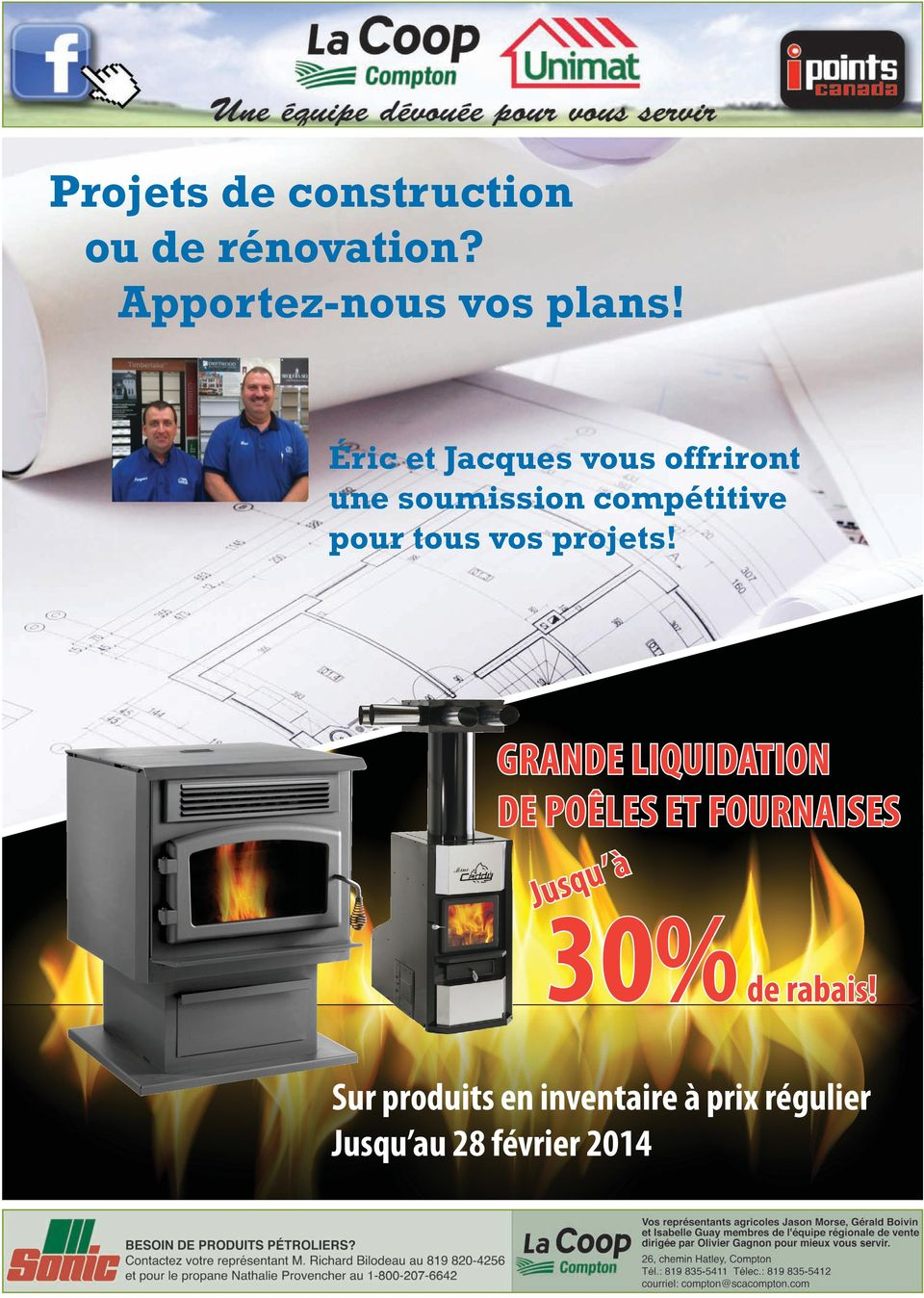 vos projets!