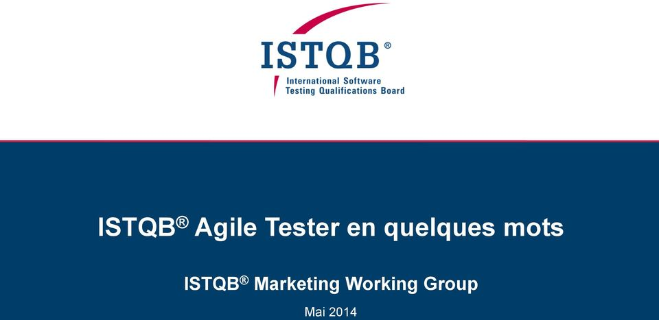 ISTQB Marketing