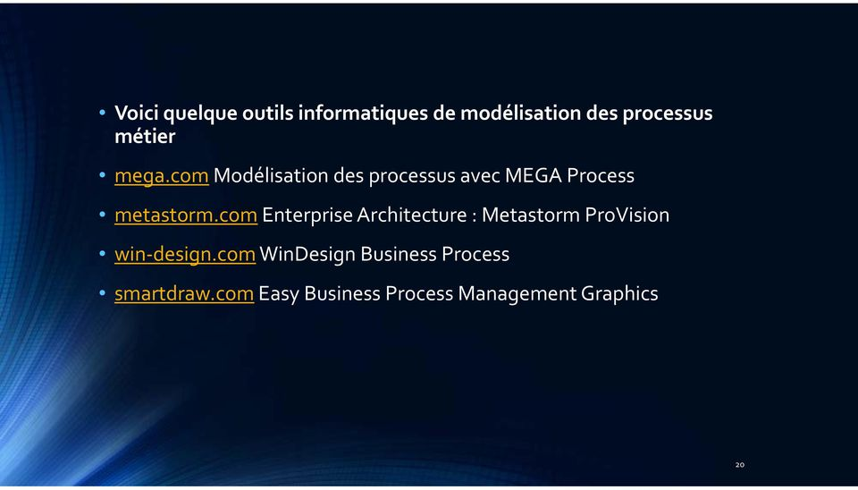 com Enterprise Architecture : Metastorm ProVision win design.