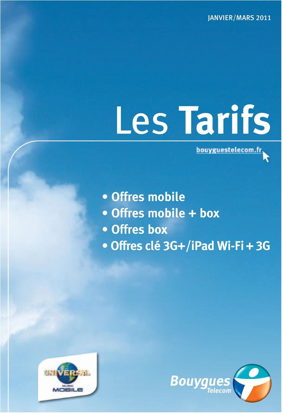 Offres mobile box Offres