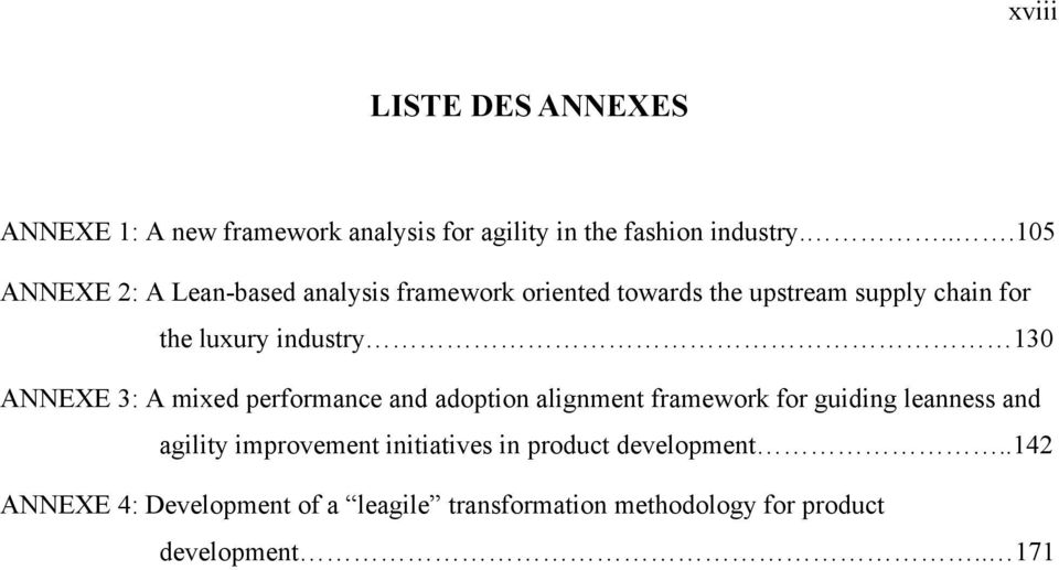 industry 130 ANNEXE 3: A mixed performance and adoption alignment framework for guiding leanness and agility