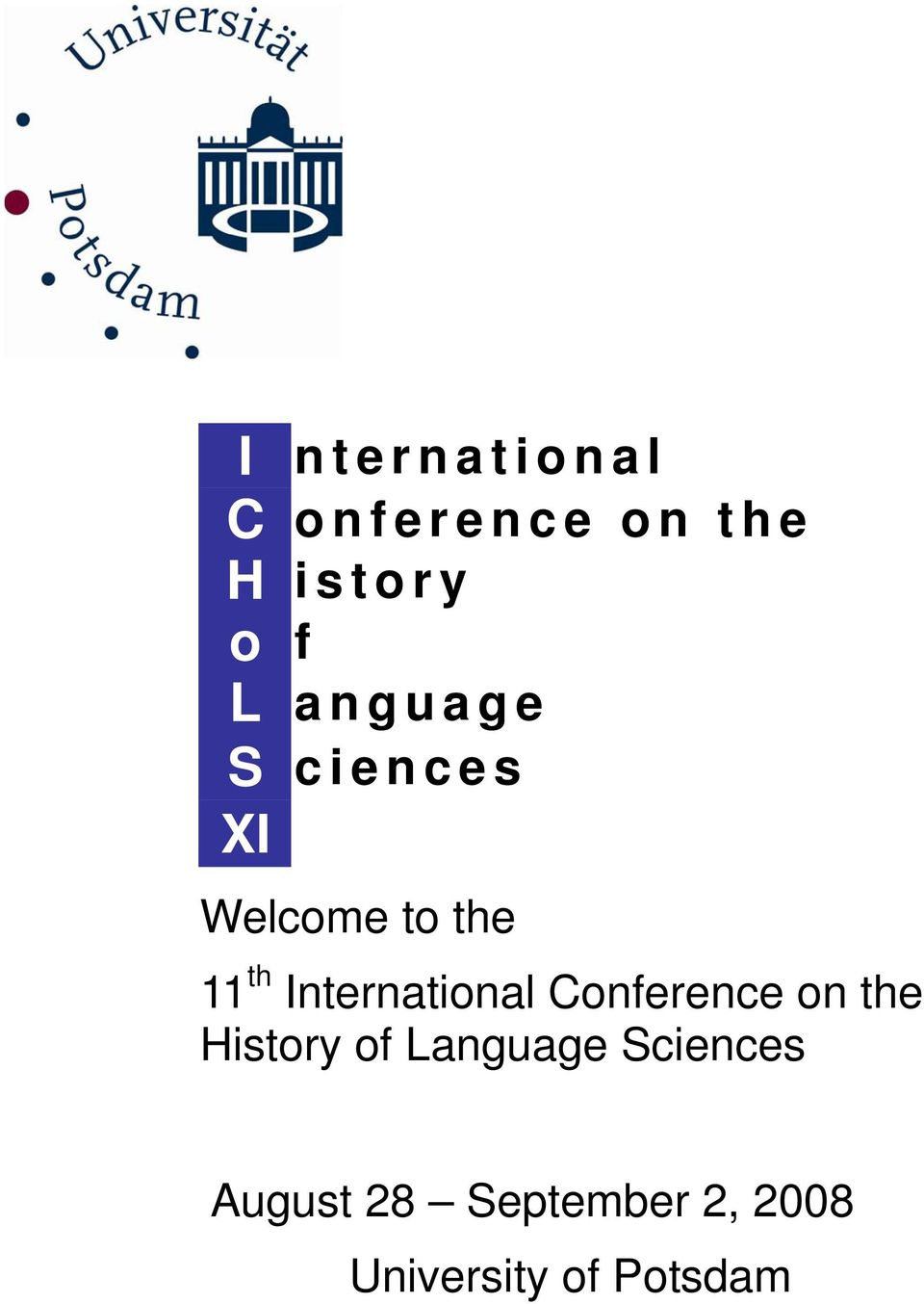 International Conference on the History of