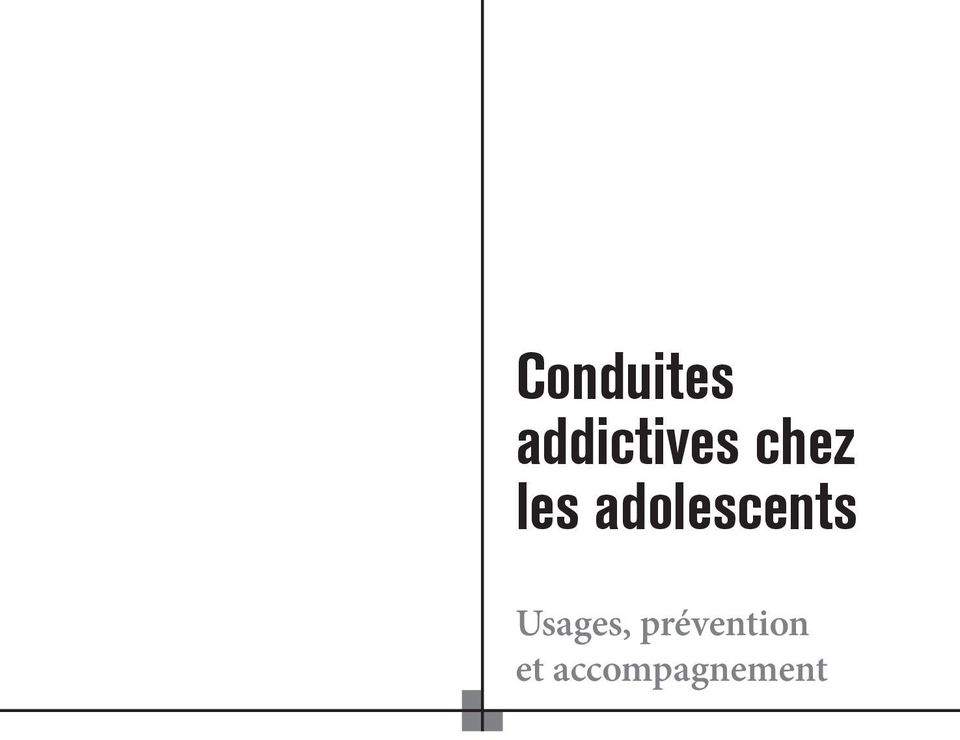 adolescents Usages,